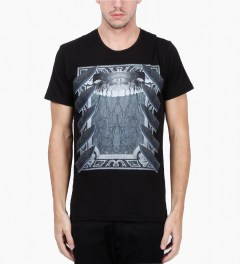 Uppercut Black Teeth Print T-Shirt Model Picutre