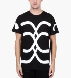 Uppercut Black Structure A T-Shirt Model Picutre