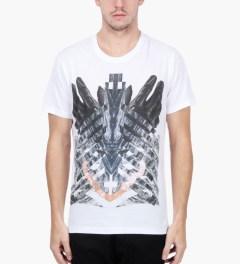 Uppercut White Gloves Print T-Shirt Model Picutre