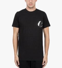 Matthew Miller Black Foil Pocket Circle T-Shirt Model Picture
