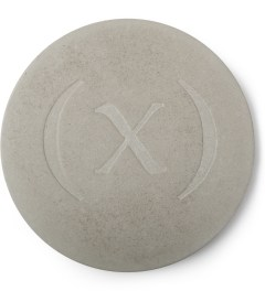 (multee)project Concrete Grey Wabi-sabi Concrete Coaster Set  Picutre