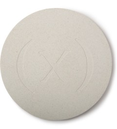 (multee)project Bone White Wabi-sabi Concrete Coaster Set Picutre