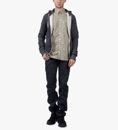 Naked & Famous Charcoal Selvedge Weird Guy Jeans Model Picture