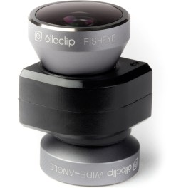 olloclip Space Grey Lens/Black Clip 4-in-1 Fisheye,Wide-Angle,2 Macros iPhone5/5s Lens Model Picutre