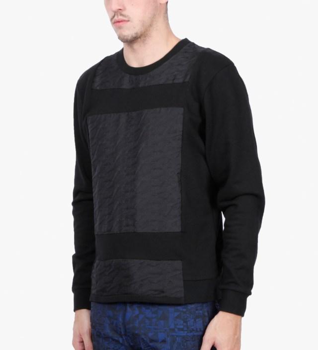 Black Magpie Jacquard Sweater