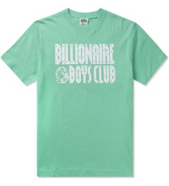 Billionaire Boys Club Ocean Wave/White S/S Straight Logo T-Shirt Picture