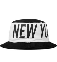 Stampd Black/White Big NY Colorblock Bucket Hat Picture