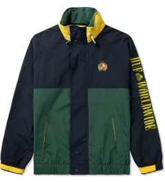 HUF Navy/Green Atlantic Jacket Picutre