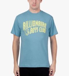 Billionaire Boys Club Dusk Blue/Sunshine S/S Classic Arch Logo T-Shirt Model Picture