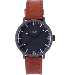 TSOVET Gunmetal/Black w/ White SVT-SC38 Watch Picture