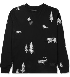 Raised by Wolves Black Trap Life L/S T-Shirt Picture