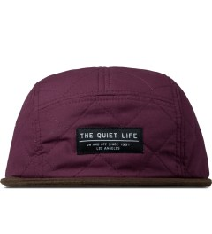 The Quiet Life Maroon Quilted 5 Panel Cap Picture