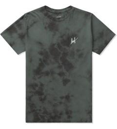 HUF Black Tonal Small Script Crystal Wash T-Shirt Picture