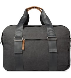 QWSTION Washed Grey Weekender Bag Picture