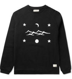 Libertine-Libertine Black/White Grill Space Sweatshirt Picutre