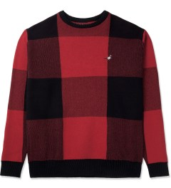 Staple Red Tartan Sweater Picture