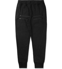UNYFORME Black Jones Twisted Seam Sweatpants Picture