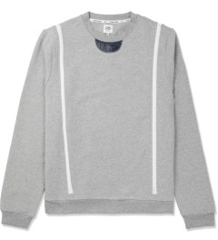 Opening Ceremony Light Grey Zipper Gusset Sweater Picture