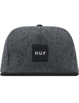 HUF Black Upstate Strapback Picture