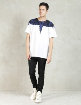 MARCELO BURLON White Rio Negro T-Shirt Picture