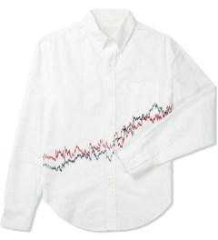 Band of Outsiders White L/S Button Down Shirt Picture