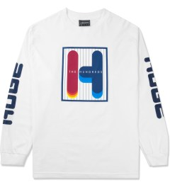 The Hundreds White Feel Ya L/S T-Shirt Picutre