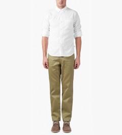 Head Porter Plus Beige Camo Chino Pants Model Picture