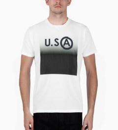 U.S. Alteration White AS14 USA T-Shirt Model Picutre