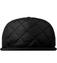 Stampd Black Nylon Quilted Bomber Snapback Cap Picture