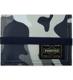 Head Porter Navy Jungle Band Card Case Picture