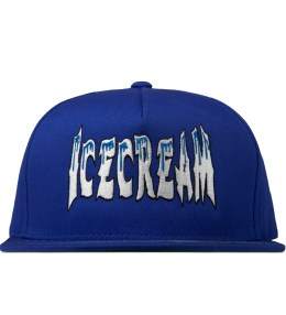 ICECREAM Royal Blue Cold Ice Logo Cap Picture