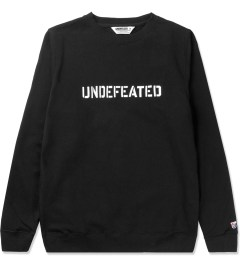 Undefeated Black Basic Block Sweater Picutre