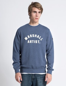 Marshall Artist Light Navy Marque Sweater Picture
