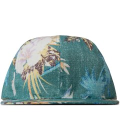 BWGH Green Floral Print Cap Picture