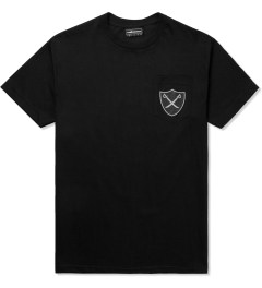 The Hundreds Black Pirate Pocket T-Shirt Picture