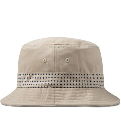 CLOT Beige Bucket Hat Model Picutre