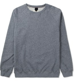 Uniforms for the Dedicated Grey Melange Old Boy HJ Roundneck Sweater Picture