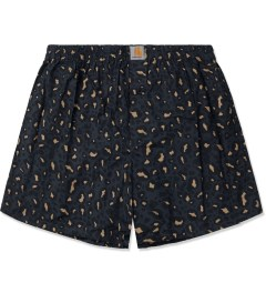 Carhartt WORK IN PROGRESS Marlin Leopard Print Boxer Short Picutre