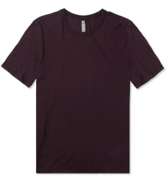 SILENT Damir Doma Maroon Thyri Piping T-Shirt Picture