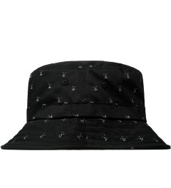 Odd Future Black Earl Chum Allover Bucket Hat Model Picture