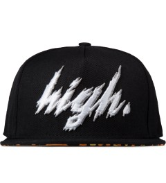 Odd Future Black Domo High Animal Style Snapback Hat Picutre