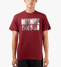 Billionaire Boys Club Chili Pepper S/S Straight Logo T-Shirt Model Picutre