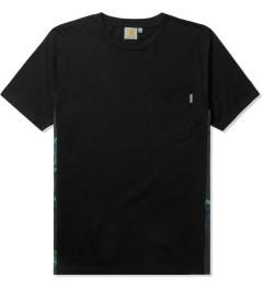 Carhartt WORK IN PROGRESS Black/Trunk Print S/S Glan T-Shirt Picutre