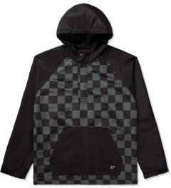 Stussy Black Check Pullover Jacket Picutre