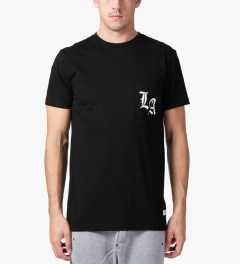 Stampd Black LA Pocket T-Shirt Model Picutre