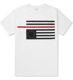 Black Scale White Rebel Red Flag T-Shirt Picutre