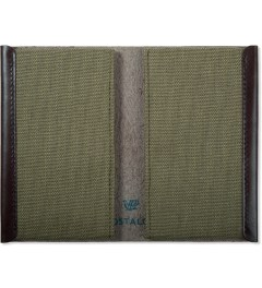 POSTALCO Olive Green Card Holder Model Picture