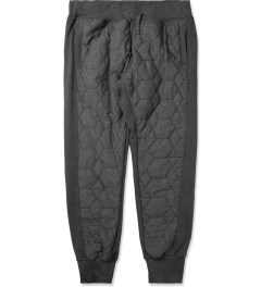 UNYFORME Heather Charcoal/Black Cooked Up Axel Sweatpants Picutre