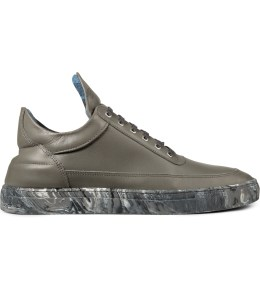 Filling Pieces Grey/Marbleized Low Top Sneakers Picture