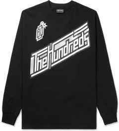 The Hundreds Black Motion L/S T-Shirt Picture